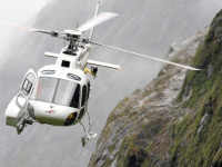 Fiordland rescue chopper