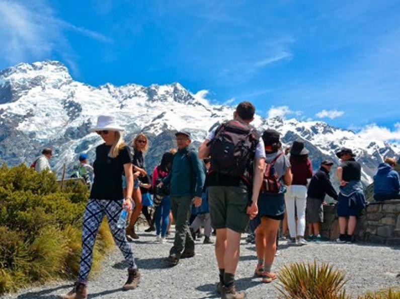 Mount Cook crowds