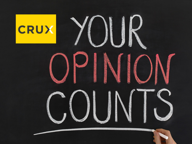Your Opinion Counts Crux