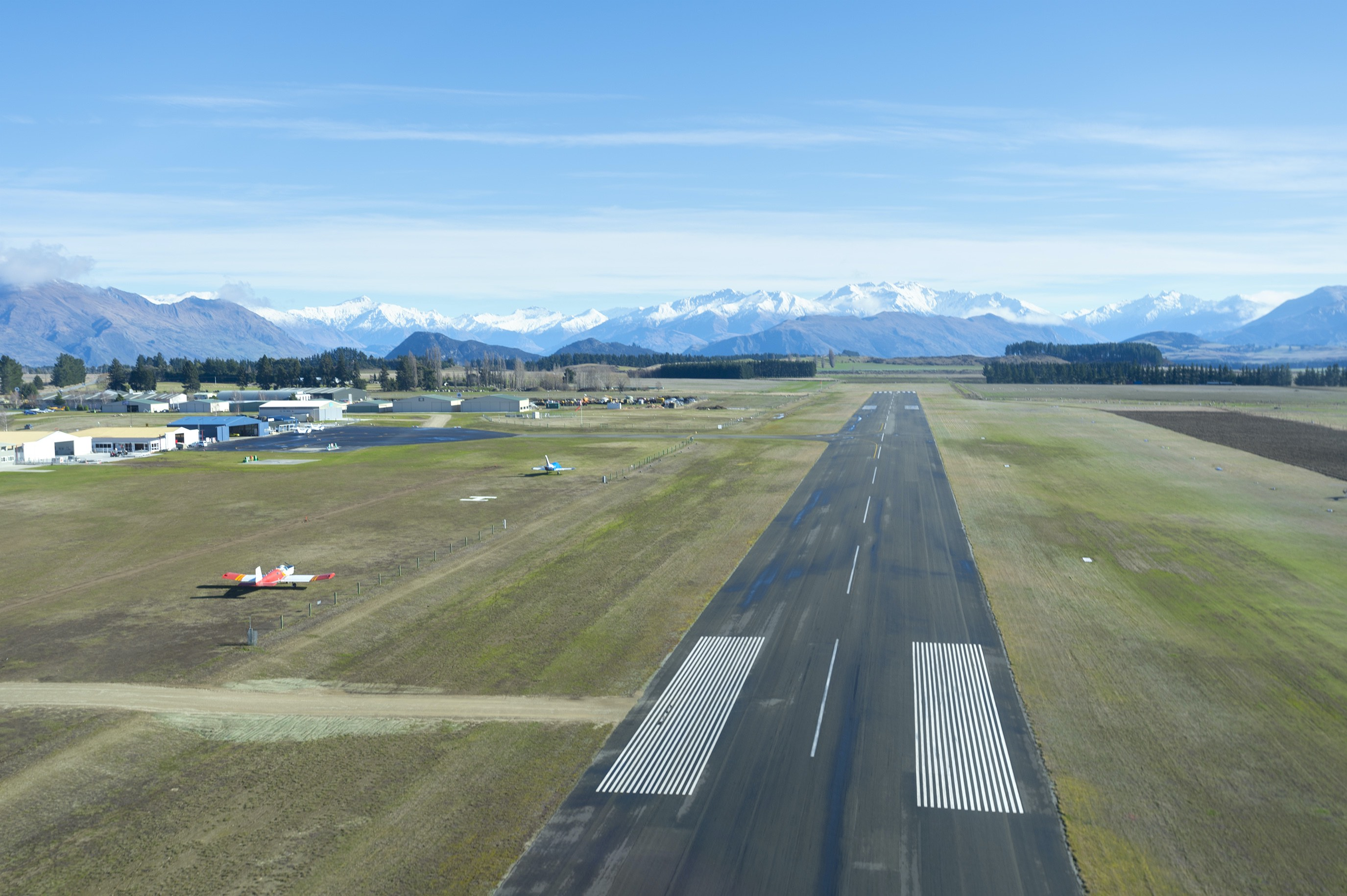 Wanaka airport approach MR