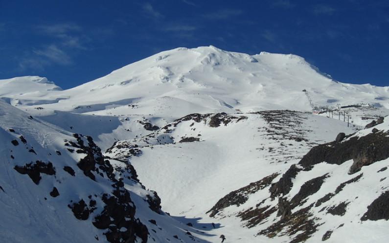 eight col Turoa ski field Mt Ruapehu photo Alison Ballance